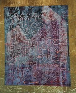 """""""Love Mechanism"""" 2003 acrylic on canvas 60 x 50 cm"""