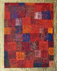 """New Hideaway Emotion"" 2004 acrylic on canvas 80 x 60 cm"