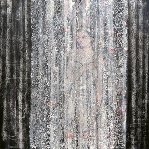 """""""The Milk Princess"""" 2006 acrylic on canvas"""