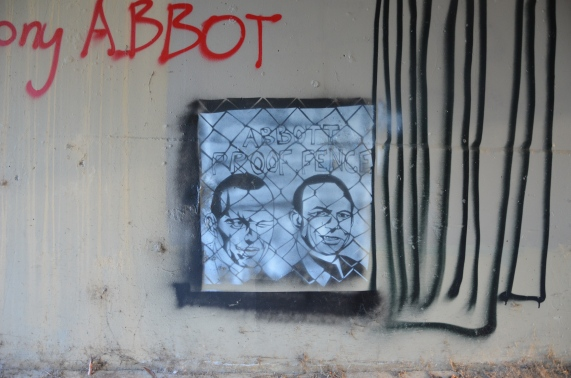 My response to pro Abbott graffiti