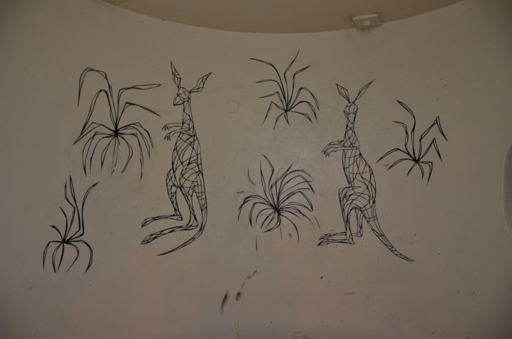 New paste-up -  more kangaroos!